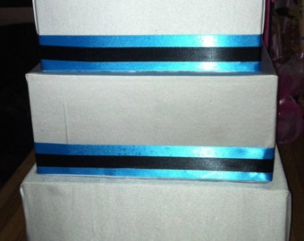 Custom made 3 Tier Wedding Card Box
