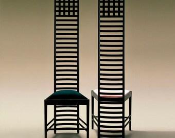 Charles Rennie Mackitosh Hillhouse chair