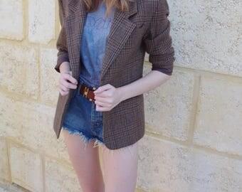 Vintage Tweed Suit Jacket