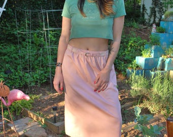 Vintage Girl Scout Crop Top