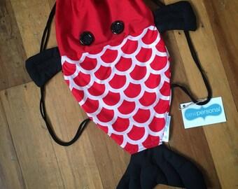 Fish Drawstring Backpack