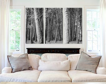 Thick Forest  - Canvas Art
