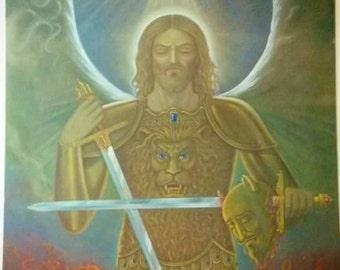 Fine Art Giclee Print Painting Titled Jesus Christ