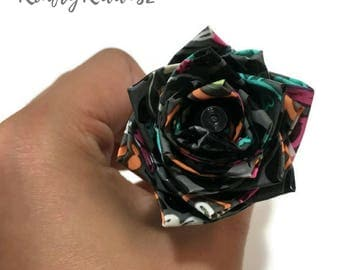 Duct Tape Flower Pen Small
