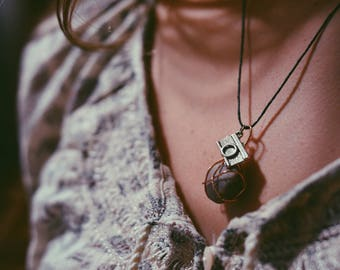 Wrapped Rock Necklaces