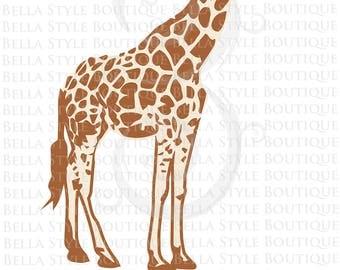 Giraffe VINYL DECAL