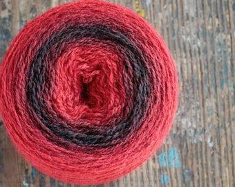 Pure wool knitting yarn - 86 g
