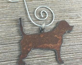 Beagle Christmas Ornament, Beagle Ornament, Dog Ornament, Pet Ornament, Dog Christmas Ornament,  Gift for Dog Lover, Dog Gift