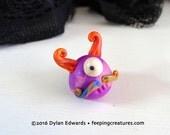 Oddball Horned Monster - Feeping Creatures monster figurine