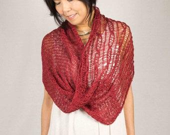 """Knit Kit  """"Duality"""" Cowl by DanDoh, Yumiko Alexander"""