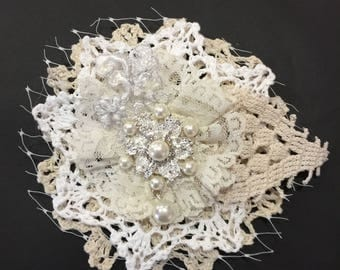 Shabby Chic Brooch