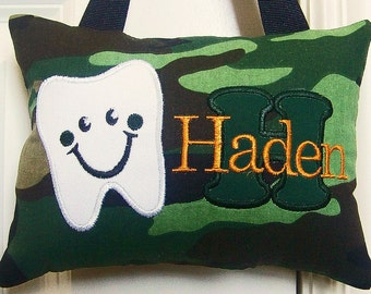 Tooth Fairy Pillow - Camo