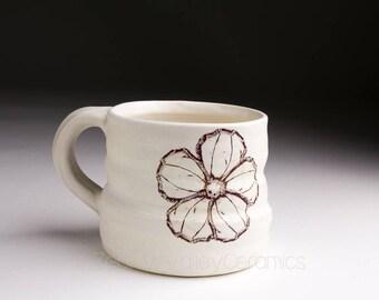 Ceramic Coffee Cup - Stoneware Mug- Tea Cup - Pottery Coffee Mug