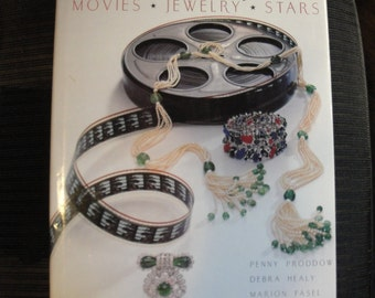 1992 hardcover edition, Hollywood Jewels Movies * Jewelry * Stars, by Penny Proddow, Debra Healy, Marion Fasel, Fabulous photos & history