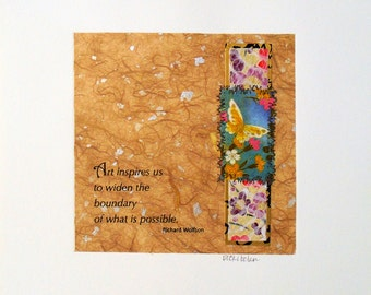 Mixed Media, Art Poems, Abstract Art Pictures, Online Art Gallery, Contemporary Art, Richard Wolfson Poetry Broadside, Home & Wall Decor