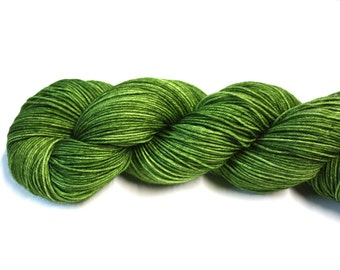 Envy--hand dyed sock yarn, merino and nylon, (463yds/100gm)