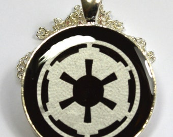 Star Wars Imperial Crest Sci Fi Resin Pendant