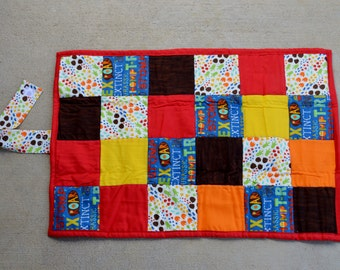 Quilted Changing Pad ideal for diaper changing on the go