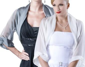 Evening Bolero Jacket FIRST LADY/  34 colors / Sizes XS - 4X
