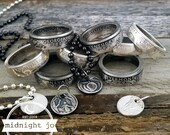 State Jewelry Coin Ring & Necklace Set 90% SILVER Quarter MS0902-TSSCUST