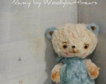 Nancy the Bear by Woollybuttbears