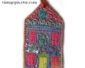 Wee Quilted House No. 2016A