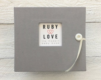 Solid Ash Gray | BABY BOOK
