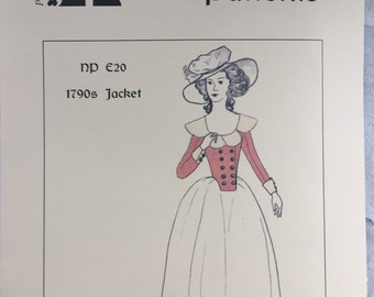 1790s French Revolution Jacket Pattern