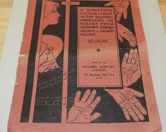 1901 Ki-Magi CHIROLOGY, Physiognomy, Phrenology, Graphology