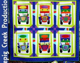 Monster Truckers Quilt