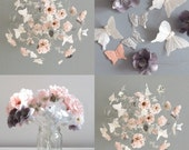 Baby Girl Mobiles, Flower Mobiles, Floral Nursery Decor