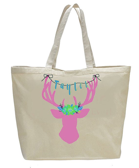 Bride Tribe Bags, Matching Bridesmaid Totebags, Monogrammed canvas bags, bridesmaid gifts, bridal party gift, wedding weekend bag, totebag