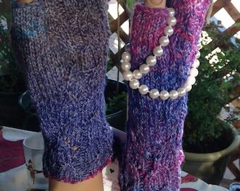 Noro Silk Fingerless Gloves