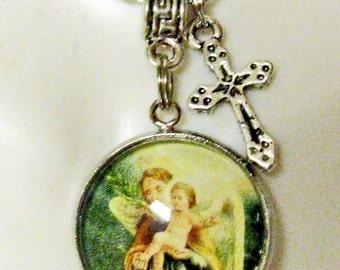 Guardian angel necklace - AP28-009