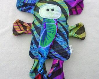 Elephant Pillow Plush - Pellicanos Zamira Yubiley - Wrap Scrap Stuffed Elephant