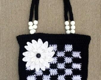 Handmade Crochet Handbag, Handmade Crochet Purse, Crochet Bag, Girl Crochet Purse, Flower Crochet Purse, Handbag, Handmade Purse