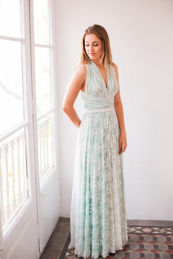 Lace Dress Bridesmaid
