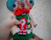 Elfin a Handmade OOAK Art Doll Ratty Tatty Monster