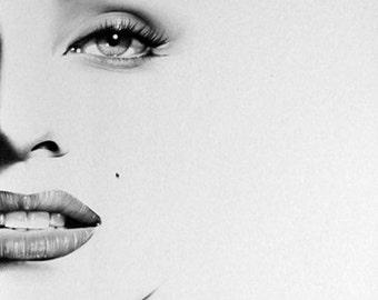 Marilyn Monroe Half Series Original Pencil Portrait