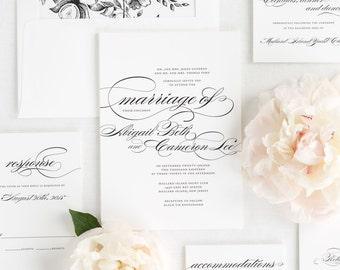 Marriage Wedding Invitations - Deposit