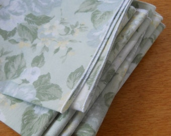 Everyday Cloth Table Napkins in Spring  Colors, set of 12, Table Napkins