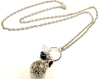 Aromatherapy Necklace - Beautiful, Aromatherapy Locket with Charms