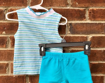 Vintage Toddlers Summer Outfit - 2T or 3T
