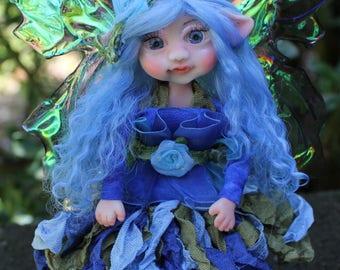 Art Doll OOAK, Fairy Doll, OOAK Fairy, Handmade Faery, Fairies and Pixies, Fantasy Art Doll, Posable Fairy, Fairy Figurine