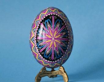 Pysanka Ukrainian Easter  beautiful gift for wife's birthday send it to mom to surprise her or summit girlfriend to be your made of honor