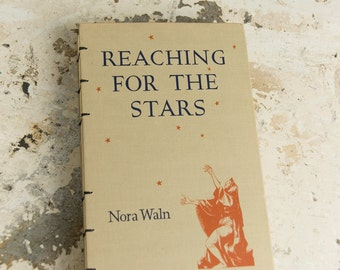 1939 REACHING THE STARS Vintage Book Journal Notebook