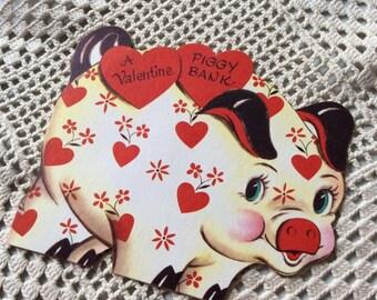 1950s Piggy Bank Etsy