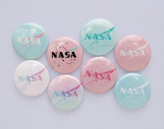 """1"""" NASA buttons"""