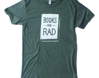 Books Are Rad - Men's T-Shirt