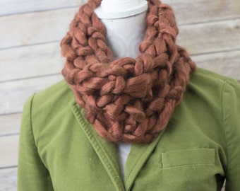 Chunky Copper Cowl